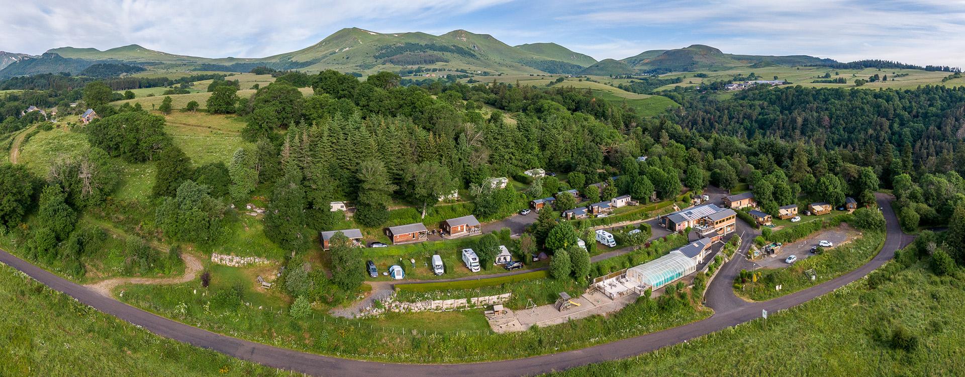 camping dans le puy de dome